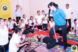 Loincloth Massage